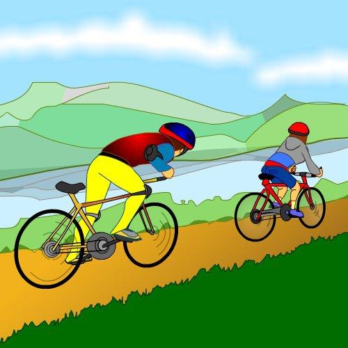 Na bicykli...